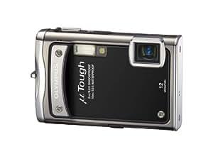 """Olympus  TOUGH-8000 Appareil photo compact numérique 12 Mpix Zoom Optique 3,6x Ecran LCD 2,7"""" Etanche et anti-choc Noir"""