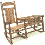 Woodworking paper plan, Nanny Rocker with side cradle, build your own.