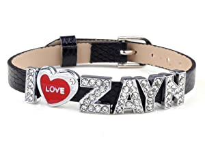 One Direction Wristband Bracelet Leather Wristband Bracelet I Love 1d by Yiwu City Yinuo E-Commercial Business Co.,Ltd