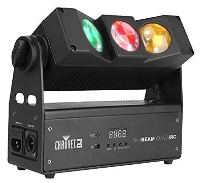 Chauvet Lighting SLIMBEAMQUAD DJ SlimBEAM Quad Projection Lighting Effect by Chauvet Lighting