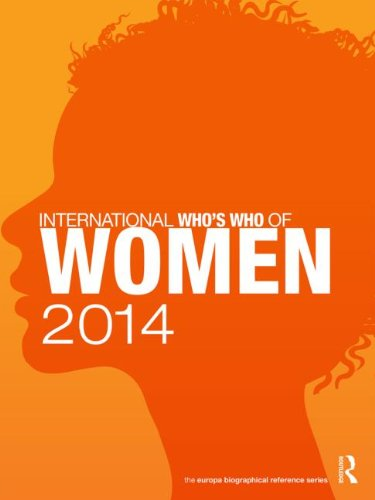 International Who's Who of Women 2014 (Biographical Reference Series)