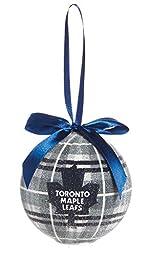 100mm LED Ball Ornament, Toronto Maple Leafs