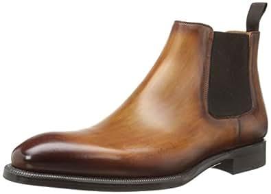magnanni men 39 s emmitt chelsea boot cognac 7 m us shoes. Black Bedroom Furniture Sets. Home Design Ideas