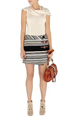 Soft Striped Skirt