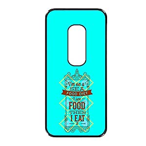 Vibhar printed case back cover for Motorola Moto X (2nd Gen) ThenEat
