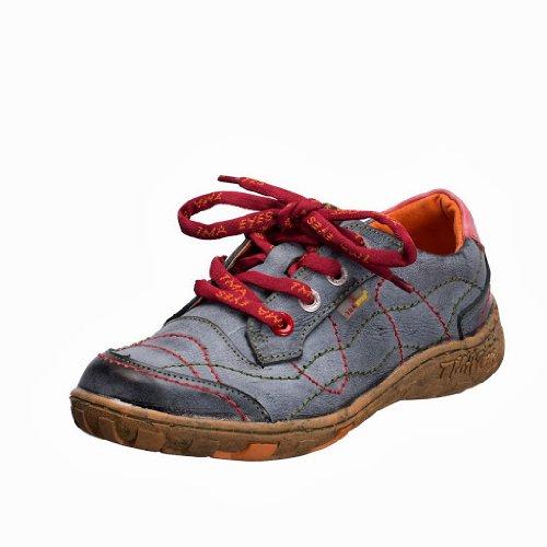 TMA EYES 1366 Schnürer Gr.36-42 mit bequemen perforiertem Fußbett , Leder 39.35 super leichter Schuh der neuen Saison. ATMUNGSAKTIV in Schwarz Gr. 36
