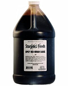 Spicy Red Hunan Sauce - 1 Gallon Net Wt 89 Lbs from Starport Foods, LLC