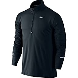 Men\'s Nike Dry Element Running Top Black Size Large
