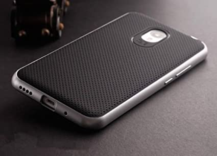 Tingtong-Original-iPaky-Brand-Luxury-High-Quality-Ultra-Thin-Dotted-Silicon-Black-Back-+-PC-Grey-Frame-Bumper-Back-Case-Cover-For-Meizu-M2-Note