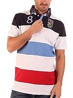 Clk Polo (Blanco / Multicolor)