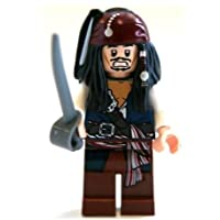 Lego Pirates of the Caribbean: Jack Sparrow Minifigure