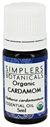 Simplers Botanicals  Essential Oil Organic Cardamom  5 ml.