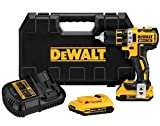 DEWALT DCD790D2 20V MAX XR Cordless Lithium-Ion 1/2-in Brushless Compact Drill Driver Kit