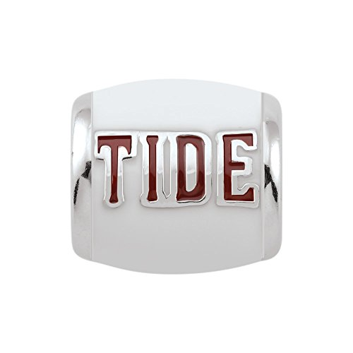 Persona Sterling Silver University of Alabama Tide Bead Charm