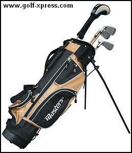 Masters MC-J520 Half Set 12-14 - Black/Gold Left Hand Graphite Junior