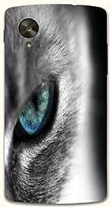 Striking multicolor printed protective REBEL mobile back cover for LG Nexus 5 / Google Nexus 5 D.No.N-R-6529-NX5