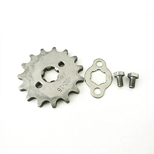 Generic 15T Teeth 17mm 420 Chain Front Sprocket Cog PIT TRAIL QUAD DIRT BIKE ATV BUGGY