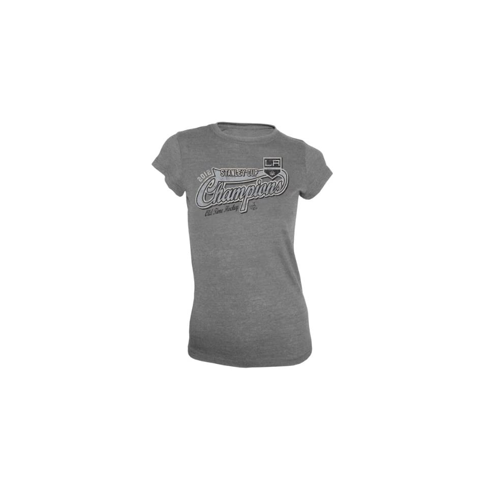 Los Angeles Kings Womens 2012 Stanley Cup Champions Old Time Hockey Arkanis T Shirt