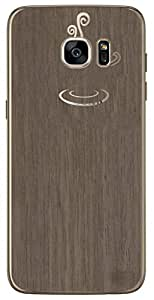 Digione original Wood Wooden Micro thin Skin Wrap for Mobile Phone Skin Sticker for Samsung Galaxy S7 Edge