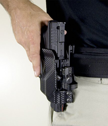 um tactical umh3cr universal holster paddle attach right