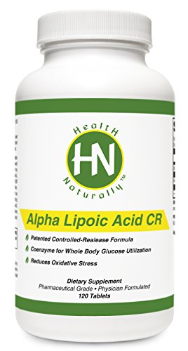 Alpha Lipoic Acid Cr - 120 Tablets | *Patented Controlled-Release Formulation Provides Extended Protection | Alpha-Lipoic Acid (As Thioctic Acid) 600Mg | Helps The Body Synthesize Glutathione