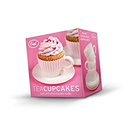 Moldes de silicona para CUPCAKES TEA - cuán civilizado!