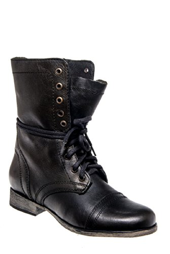Troopa Mid Calf Lace Up Boot