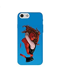 Iphone 7 ht003 (43) Mobile Case by Mott2 - Spiderman Love