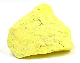 Eisco Sulfur Specimen (Mineral), Approx. 1\