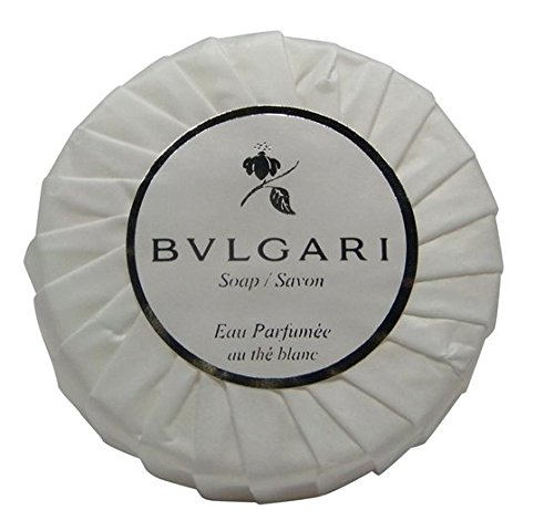 Bvlgari/Bulgari Au The Blanc (White Tea) Pleated Soaps - Set Of 3, 150 Gm/5.3 Oz Each