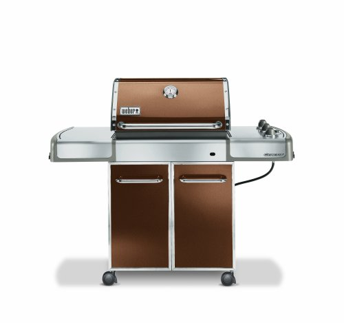 buy weber 3742001 genesis e 310 propane grill copper. Black Bedroom Furniture Sets. Home Design Ideas