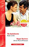 img - for 'THE BACHELORETTE: AND ''RISQUE BUSINESS'' BY ANNE MARIE WINSTON (DESIRE S.)' book / textbook / text book