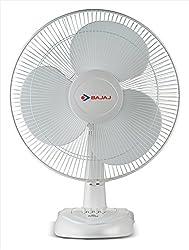 Bajaj Esteem 400mm Table Fan (White)