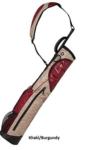 wellzher-09-sunday-v2-golf-carry-bag-collapsible-khaki-burgundy