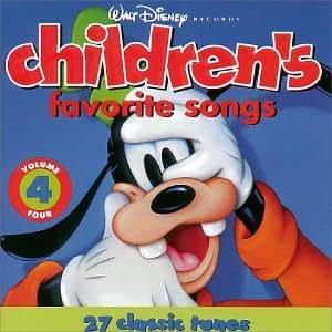 Walt Disney Records : Children's Favorite Songs, Vol. 4