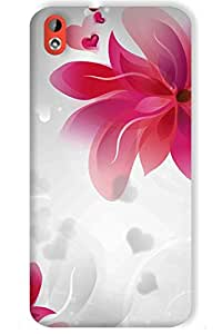 IndiaRangDe Hard Back Cover FOR HTC Desire 816