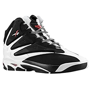 Reebok Men's The Blast Classic Shoe,White/Black/Excellent Red,14 M US