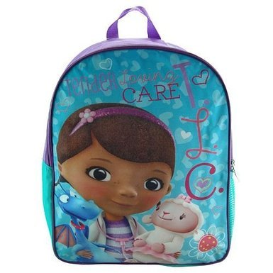 "Disney Doc Mcstuffins 16"" Backpack - 1"
