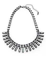M&S Collection Spike Chain Necklace