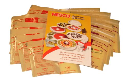 Nesco BJV-24 24-Pack Jerky Spices, 4 Assorted Flavors