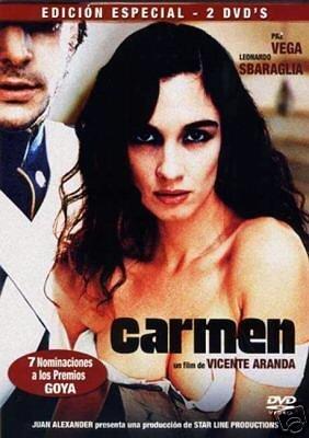 Carmen de Vicente Aranda Dvd [Reino Unido]