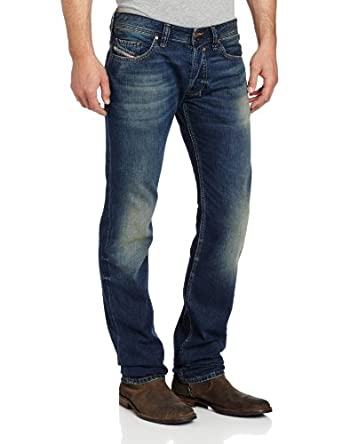 Diesel Men's Safado Regular Slim Straight Leg Jean 0807U, Denim, 33x30