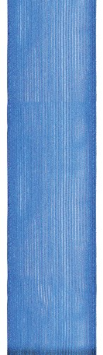 Offray Wired Edge Prelude Craft Ribbon, 2-1/2-Inch Wide by 25-Yard Spool, Royal