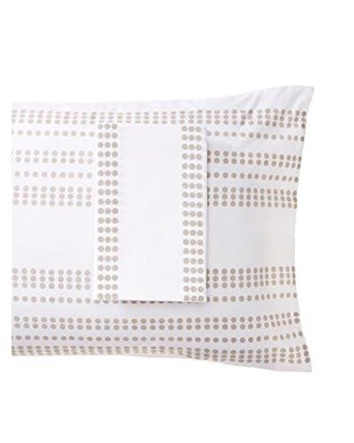 Allem Studio Pair of Granada Standard Pillowcases, Grey