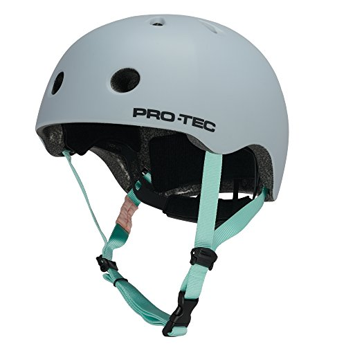 PROTEC Original City Lite Helmets, Satin Light Blue, Medium