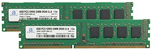 Click to buy Adamanta 8GB (2x4GB) Desktop Memory Upgrade for Acer Aspire MC605_W DDR3 1333 PC3-10600 DIMM 2Rx8 CL9 1.5v Notebook RAM - From only $17.3