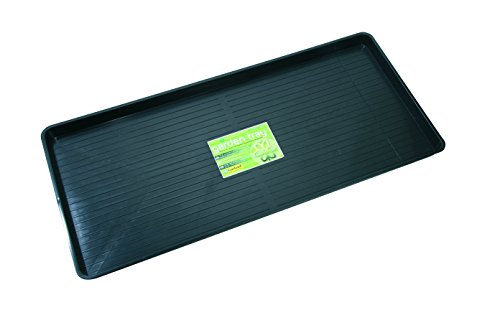 Tierra Garden GP82B Giant Plus Garden Tray, Black