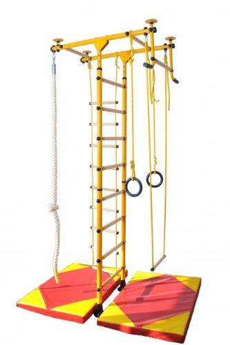 """Spalliere impalcatura scalatore da parete attrezzo per bambini """"FitTop M1"""" - Rosso"""