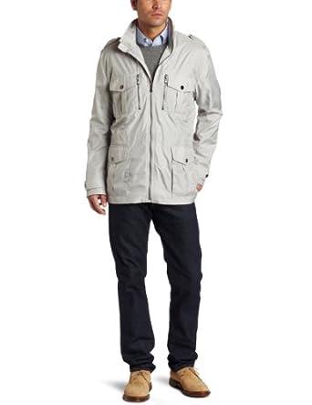 (崩溃)Michael Kors男士野战夹克Mott Field Coat 灰 $46.48