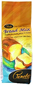 Pamela's Products Wheat-Free & Gluten-Free, Amazing  Bread Mix, 19-Ounce Packages (Pack of 6)